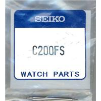Authentic Seiko C200FS 20MM SPRING BAR SET OF TWO watch band