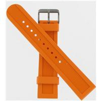 Authentic Swiss Army Brand 22mm-Rubber-Orange Large watch band