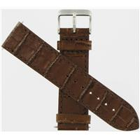 Authentic Swiss Army Brand 21mm Caramel Leather Strap watch band