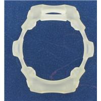 Authentic Casio BG154 BEZEL Transparent White  watch band