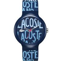 40mm Goa Silicone Navy Blue Watch 2020054