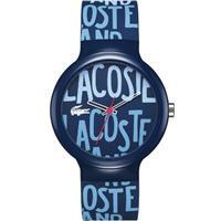 40mm Goa Silicone Navy Blue Watch 2020054