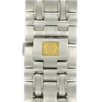 Authentic Omega 20mm-S/S Metal-Silver Tone watch band