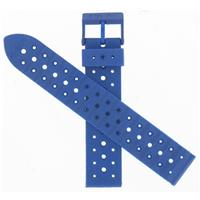 Authentic Swiss Army Brand 18mm Blue Arnitel Rubber watch band