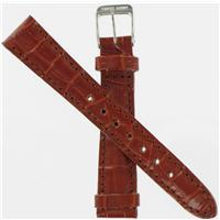 Authentic Swiss Army Brand 15mm Small Brown Croc Strap watch band