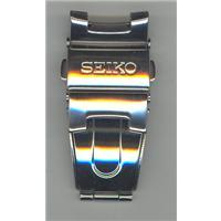 Authentic Seiko 33X6JG-BK watch band