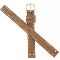 Authentic Coach 10.5mm Genuine Leather-Brown watch band