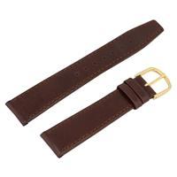 Authentic Esq 18mm Brown Genuine Leather watch band