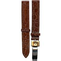 Authentic Wenger 14mm-Leather-Brown watch band