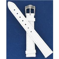 Authentic Wenger 14mm White Crocodile Grain watch band