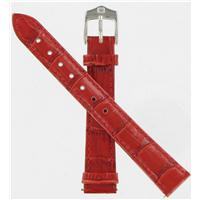 Authentic Wenger 14mm Red Crocodile Grain watch band