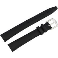 Authentic Wenger 14mm Black Leather Strap watch band