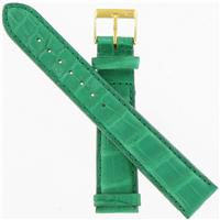 Authentic Morellato 18mm-Genuine Alligator-Green watch band
