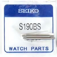 Authentic Seiko S190BS/A190BS SPRING BAR watch band