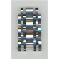 Authentic Citizen LK-S01066A Silver Tone Stainless LINKS ONLY  watch band