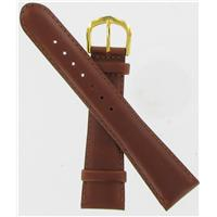 Authentic DeBeer 20mm Brown Sierra Leather watch band