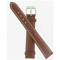Authentic DeBeer 16mm Brown Long Sport Leather watch band