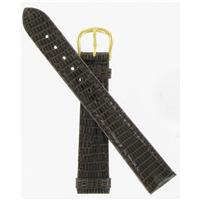 Authentic DeBeer 16mm DkBrown Lizard BW14 watch band