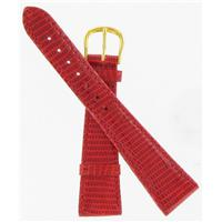 Authentic DeBeer 20mm Red Lizard watch band