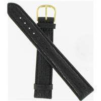 Authentic DeBeer 18mm Black Long Shark watch band
