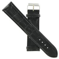 Authentic Icestar 26mm-Leather-Black watch band