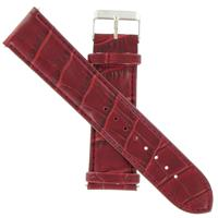 Authentic Icestar 24mm-Leather-Red watch band