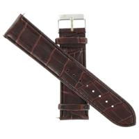 Authentic Icestar 24mm-Leather-Brown watch band