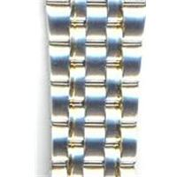 Authentic Seiko 16mm Two Tone Stainless Steel Links-44B4XB-LK watch band