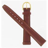 Authentic Gilden 14mm Brown Leather watch band