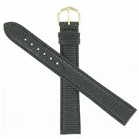 Authentic WBTG 18mm Black Leather WB-XXL1 watch band