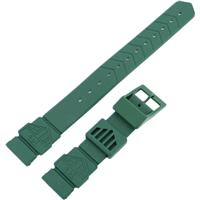 Authentic Tag Heuer 18mm (Midsize) Green Plastic watch band