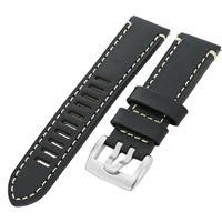 Authentic Luminox 23/22mm Black Buffalo Strap watch band