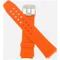 Authentic Luminox 22mm Orange Evo F-16 PU Dive Strap watch band