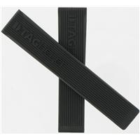 Authentic Tag Heuer 20mm Mens Black Rubber Strap watch band