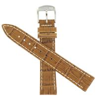 Authentic Hamilton 18/16mm Genuine Leather-Brown watch band
