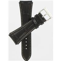 Authentic Hamilton 24/20mm Brown Padded Alligator Grain watch band
