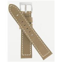 18mm Beige Leather Strap H600703101