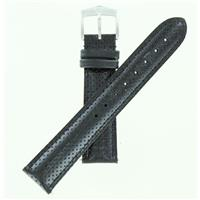 Authentic Wenger 20mm Black Leather watch band
