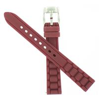 Authentic Fossil 14mm Berry Bumpy Silicone Strap watch band
