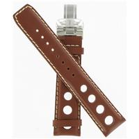 Authentic Tissot 20mm Brown Leather Strap  watch band