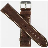 Authentic Hadley-Roma 30mm Brown Leather watch band