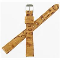 Authentic ZRC 12mm Tan Veau watch band