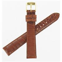Authentic ZRC 16mm Tan Calfskin watch band