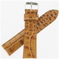 Authentic ZRC 22mm Honey Calf Florida Watchband watch band